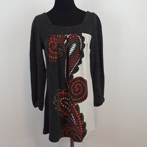 Aryeh Anthropologie sweater dress size M